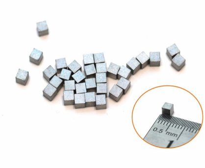 高比重钨合金小方块 3.0*3.0*3.0mm 钨镍铁合金块
